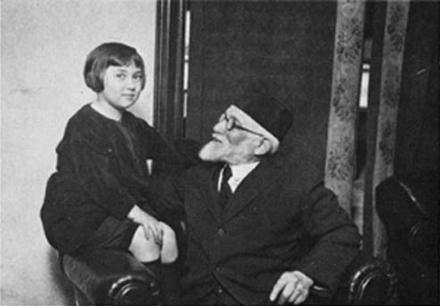 Bella Abzug with her Grandfather, Wolf Tanklefsky