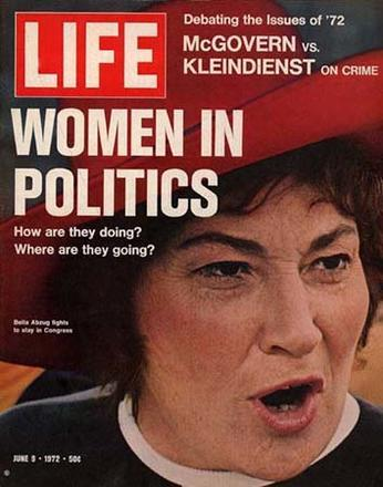 Bella Abzug on the Cover of Life Magazine, June 1972