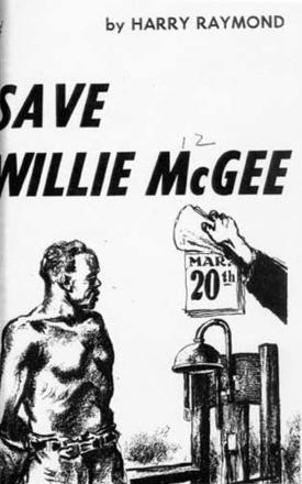 Cover for Pamphlet on Willie McGee by Harry Raymond
