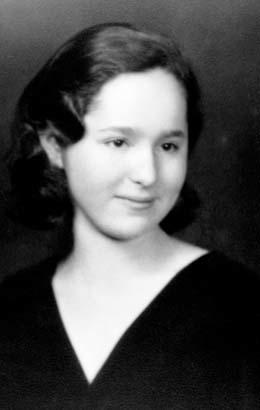Gertrude Elion's High School Graduation, 1933