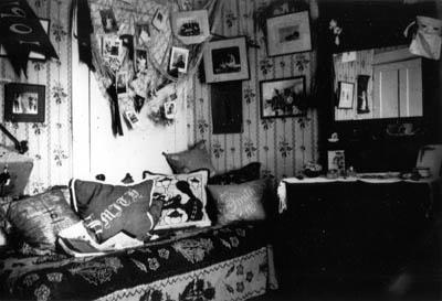 Gertrude Weil's Room at Smith College circa 1897