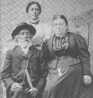 Henrietta Szold and her Parents, Lake Placid, 1897