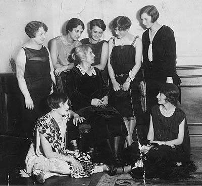 Henrietta Szold and Junior Hadassah Leaders, New York, 1927