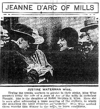 Justine Wise Polier in a New York Journal Article, 1926