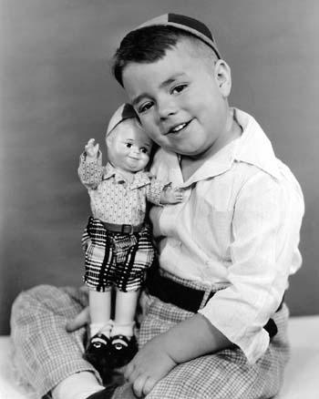 George McFarland with Spanky Doll by Beatrice Alexander, circa 1938