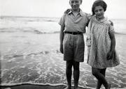 Irene with her brother Werner, 1939