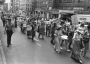 March to Support the Equal Rights Amendment, New York City, 1976, by Diana Mara Henry