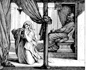 Woman edomite 1 Kings