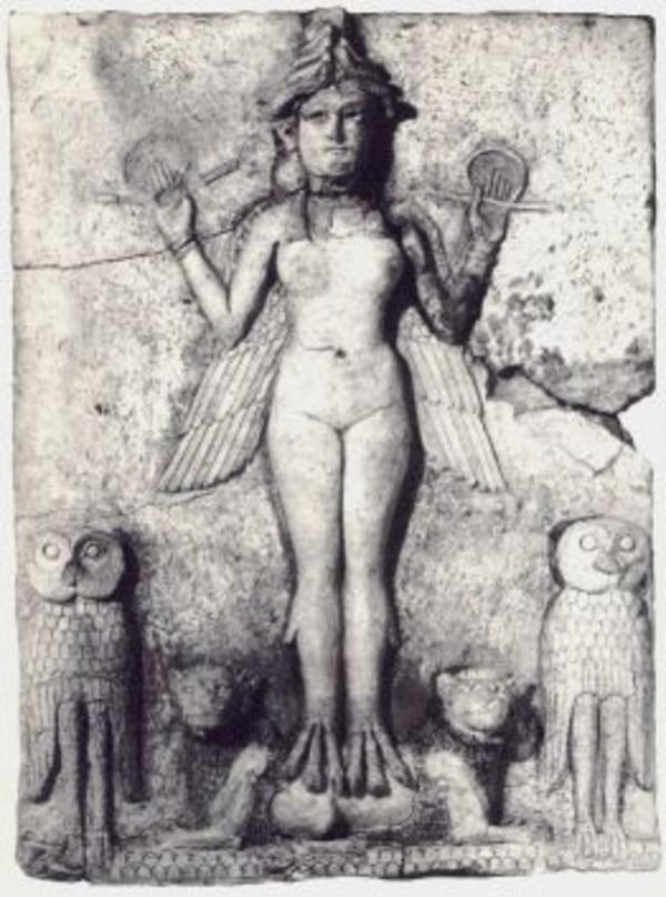 Queen night the lilith of The Babylonian