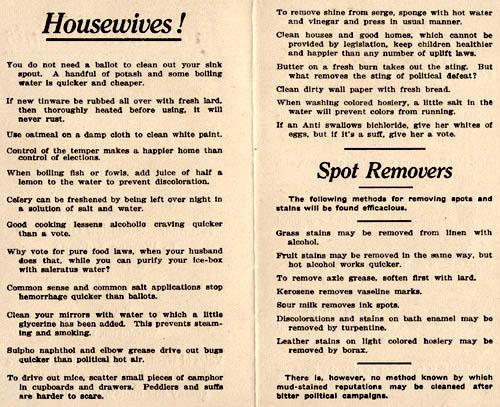 Pamphlet by the National Association Opposed to Woman Suffrage Part 2